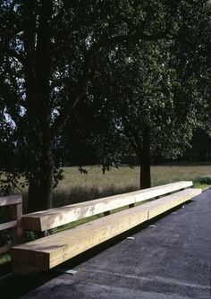 Bench in village Square, Zweinitz, Austria by Söhne & Partner. Click image for full project and visit the slowottawa.ca boards >> http://www.pinterest.com/slowottawa/: