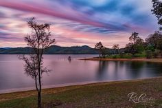 Sunrise over Wivenhoe, South East Queensland, photography by Rob Crutcher Snr...