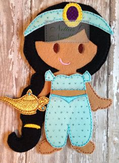Jasmine Princess: 1 outfit  1 headband  Magic lamp companion sold separately in Princess companion set. **Please note** My products are all