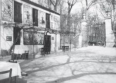 Puerta principal de la CAsa de Campo 1920