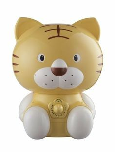 HOMEIMAGE Baby Tiger design Cool Mist humidifier by Home Image. $29.95. Tiger design cool mist humidifier. 1.8 Liter water tank capacity. 8 hours of continuous use. Mist volume control. Moisture capacity 220ml/h, auto off. 20 Watts. Helps prevents cold, flu, and congestion symptoms.