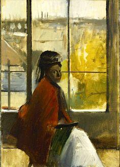 Edgar Degas - Alice Villette, 1872