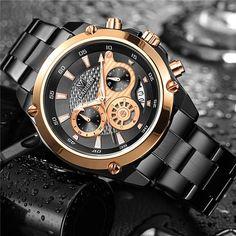 CADISEN Top Brand Luxury Mens Watch Full Steel Waterproof Sport Watches Fashion Quartz Military Wrist Watch Relogio Masculino. Yesterday's price: US $26.99 (23.43 EUR). Today's price: US $26.99 (23.42 EUR). Discount: 80%.