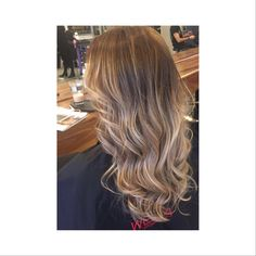 Stunning balyage and perfect soft wave by Orla  for bookings please call 01-2180872