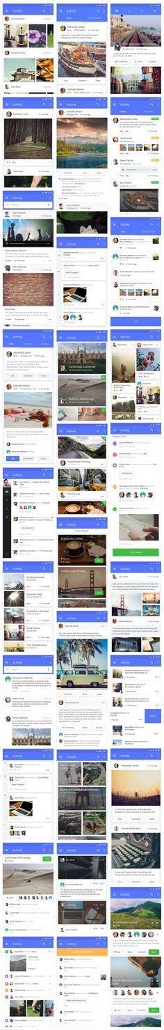 This is our daily android app design inspiration article for our loyal readers.Every day we are showcasing a android app design whether live on app stores or only designed as concept. Material Design Android, Android App Design, Android Apps, Mobile Web Design, Web Ui Design, App Design Inspiration, Ui Kit, Application Ui Design, Conception D'interface