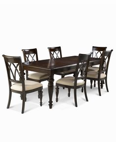 Captivating Bradford 7 Piece Dining Room Furniture Set (Table U0026 6 Side Chairs)