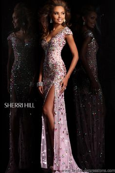 Sherri Hill 21081 Beaded Mermaid Prom Dress --- I'd love to wear this, not even phased that it's a prom dress.