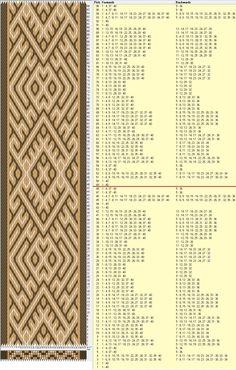 40 tarjetas, 3 colores, repite cada 48 movimientos // sed_729a diseñado en GTT༺❁