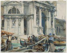 John Singer Sargent Watercolor