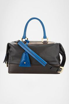 Drew Satchel Patchwork | Bags by DVF