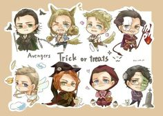 avengers halloween fanart - Google Search