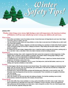how to stay safe during wether events for kids