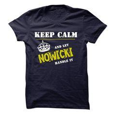 Let NOWICKI Handle It - #tshirt kids #pullover hoodie. FASTER => https://www.sunfrog.com/Funny/Let-NOWICKI-Handle-It.html?68278