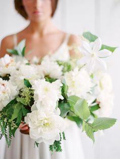 Organic Simplicity Wedding Inspiration - Lindsey Brunk