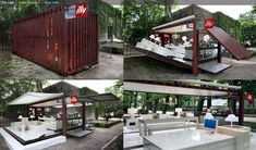 Container House, ILLY cafe bar