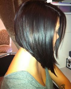 Asymmetrical Short Bob Hairstyles 2017 With Graduated Volume