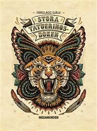 Stora tatueringsboken : Färglägg själv