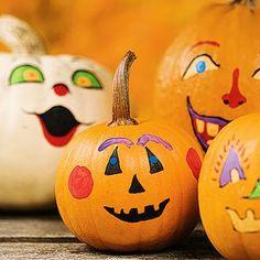 pumpkin painted