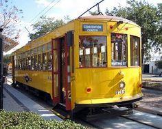 1920's streetcar Tampa, Florida