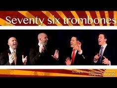 ▶ Seventy six trombones (Ambassadors of Harmony) - A cappella multitrack - YouTube