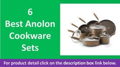 Best Anolon Cookware Sets | Top 6 Cookware Sets reviews https://youtu.be/RX2QTqv9jMA