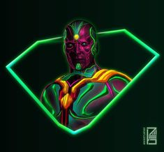 45/365 : NEON AVENGERS Artwork : 10 - Good ol' Vision ! ( Not so old actually ) Loved playing with green neons for a change ! Dude's gonna get Rekt when Thanos comes for that mind stone ☠️ . Don't forget to checkout my recent Iron Man Tshirt merch ! Link in bio ! Full brightness preferred. Zoom in for details ☀️ ➖➖➖➖➖➖➖➖➖➖➖➖➖➖➖➖➖ #art #artist #avengersinfinitywar #digitalart #sketch #marvel #thanos #captainamerica #ironman #infinitywar #deadpool #spiderman #blackpanther #flash #comics #i...