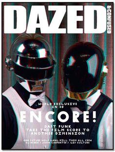 Daft Punk magazine cover