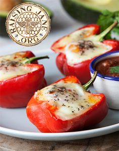 Chorizo & Avocado Stuffed Bell Peppers: Prep Time: 15 Minutes  Cook Time: 30-35 Minutes  Makes: 6 Servings