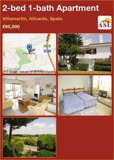 2-bed 1-bath Apartment in Villamartin, Alicante, Spain ►€95,000 #PropertyForSaleInSpain