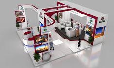 Qatar steel exhibition stand