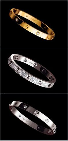 This is on my list for graduation gifts! I would get the gold one to match my ring. #Cartier