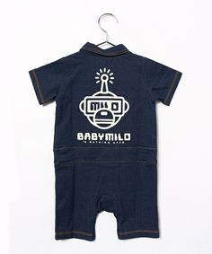 BAPE KIDS(ベイプキッズ)のBABY MILO GLOW IN THE DARK ROMPERS(ロンパース) 詳細画像