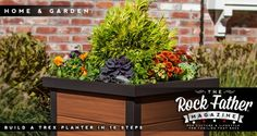 DIY: How to Build a Weather-Resistant Planter Box with Trex