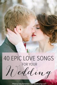 Valentine's Playlist | 40 Romantic Songs For Your Wedding | Bridal Musings Wedding Blog