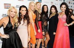The Real Housewives of Beverly Hills (Season tell Us Weekly what they think of new additions Joyce Giraud and Carlton Gebbia. Carlton Gebbia, Brandi Glanville, Lisa Vanderpump, Vanderpump Rules, Kyle Richards, Bravo Tv, Housewives Of Beverly Hills, Real Housewives, Bravo Housewives