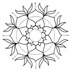 Mandala Art, Mandala Painting, Dot Painting, Stone Painting, Zentangle Patterns, Mandala Pattern, Mosaic Garden Art, Trippy Drawings, Do It Yourself Inspiration