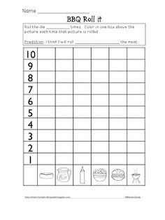 Roll, Graph and Do (Freebie included) More