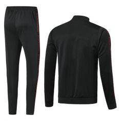 0f862a1cc 19-20 Manchester United Black V-Neck Training Kit(Jacket+Trousers)