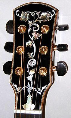 Inlay   guitar head