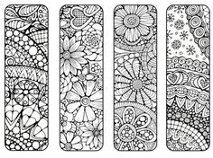 Bookmarks to Print and Color Bookmark by LittleShopTreasures Davlin Publishing Free Printable Bookmarks, Diy Bookmarks, Bookmarks To Color, Bookmark Ideas, Coloring Book Pages, Printable Coloring Pages, Book Markers, Zentangle Patterns, Zentangles