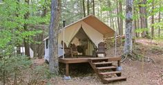 Full service camping resort in the Adirondacks