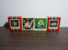 Vintage Christmas Ornaments Angel Collection Set by LadyNinaNana, $13.00