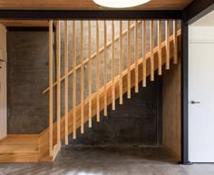 Read our webpage for a good deal more relating to this superb photo Exposed Concrete, Precast Concrete, Concrete Floors, New Staircase, Staircase Design, Radiant Heaters, Room Partition Designs, Community Housing, Clerestory Windows