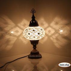 Mosaik Tischlampe Türkei Mosaiklampe Handgearbeitet Orientalische Lampe