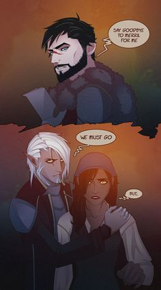 Dragon Age: The Sacrifice of Hawke by Quincy-Sue