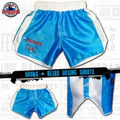 e34aa2ac7 Boxer Shorts - The Bronx - Boxing Trunk for men and women in retro vintage  style ✓ buy online ✅ large selection of boxing shorts in our boxing sport  ...