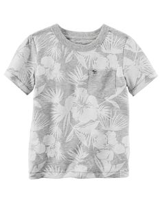 Tonal Floral Graphic Tee from Carters.com. Shop clothing & accessories from a trusted name in kids, toddlers, and baby clothes.