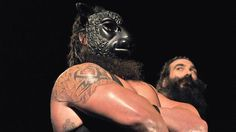 """Bray Wyatt introduces """"The New Face of Destruction"""" Braun Strowman to the WWE Universe: photos The Wyatt Family, Paul Heyman, Bray Wyatt, Braun Strowman, Wwe Tna, Ric Flair, Wwe Superstars, New Face, Wrestling"""