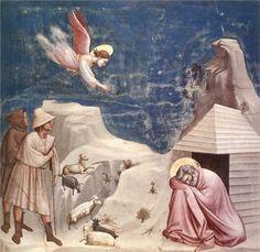 The Dream of Joachim - Джотто
