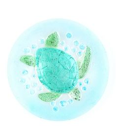 Take a look at this Sea Turtle Round Plate by Design Imports on #zulily today!